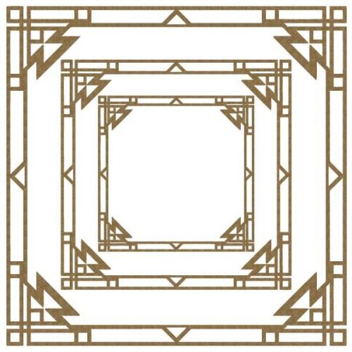 DecoArt Aztec Frames - Frames