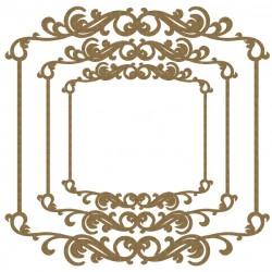 Delicate Flourish Frames