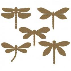 Dragonflies Set of 5