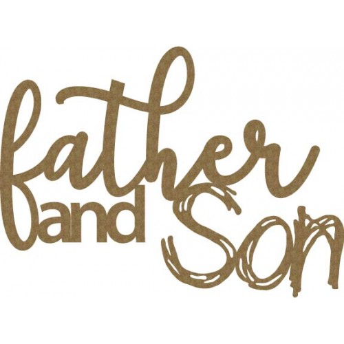 father & son - Words
