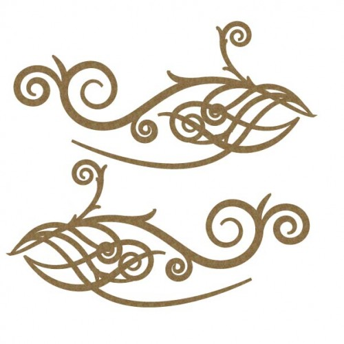 Filigree Scroll Set - Flourishes
