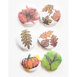 Fall Flair Buttons