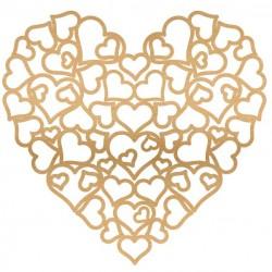 Full of Love Large Wood Heart
