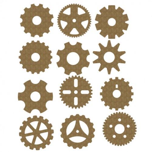 Gear Set 5 - 2 inch - Steampunk