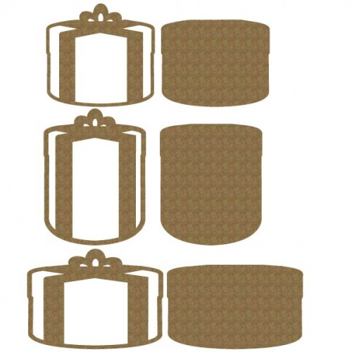 Gifts Set 2 - Chipboard