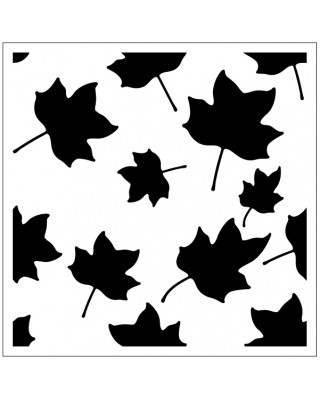 Leaves Stencil Style 2
