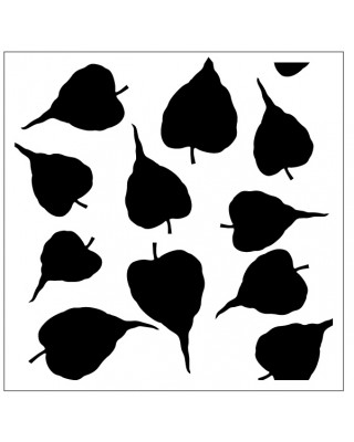 Leaves Stencil Style 3
