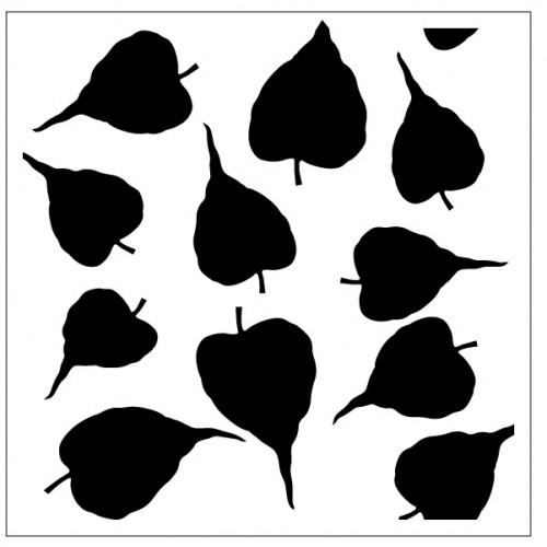 Leaves Stencil Style 3 - Stencils