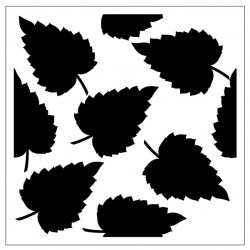 Leaves Stencil Style 4
