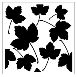 Leaves Stencil Style 5