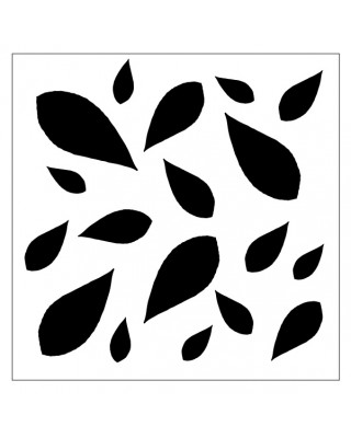 Leaves Stencil Style 6