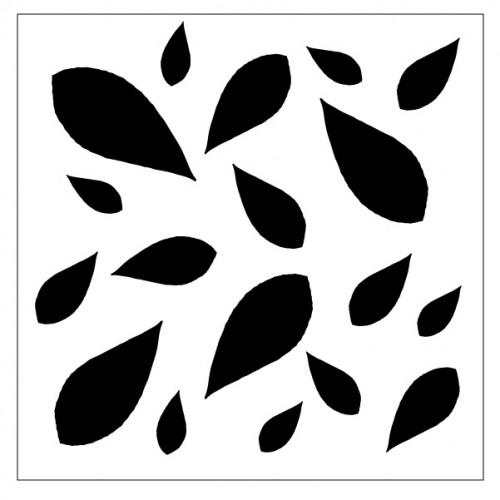 Leaves Stencil Style 6 - Stencils