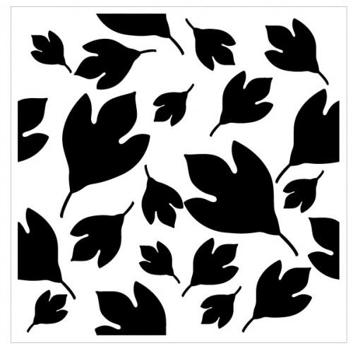 Leaves Stencil Style 1 - Stencils