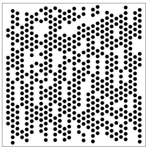 Small Circles Stencil - Stencils