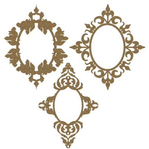 Oval Ornate Frames 2 - Frames
