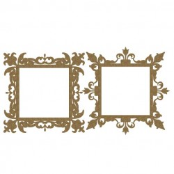 Ornate Square Frames 2