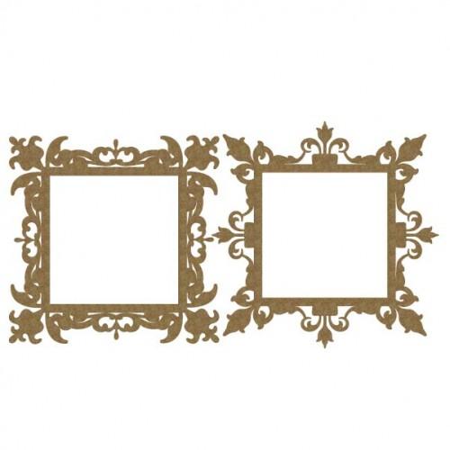 Ornate Square Frames 2 - Frames