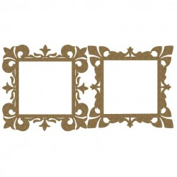 Ornate Square Frames