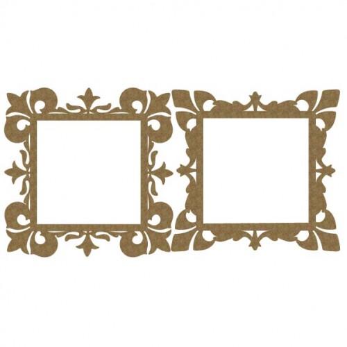 Ornate Square Frames - Frames