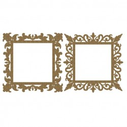 Ornate Square Frames  3