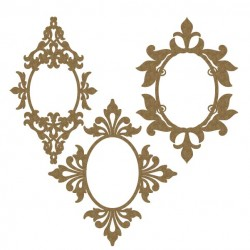 Oval Ornate Frames