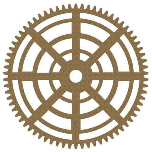 Large Gear 2 - Steampunk