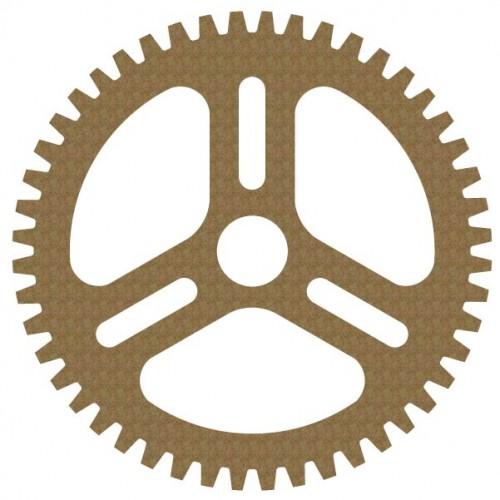 """8"""" Gear Style 2 - Steampunk"""