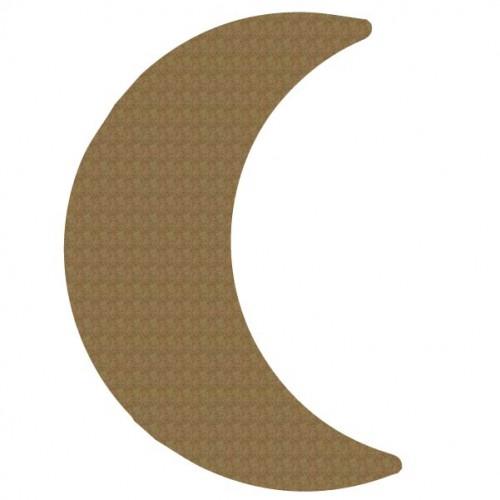 Cresent Moon - Chipboard