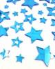 Mirror Acrylic Blue Star pieces - Acrylic