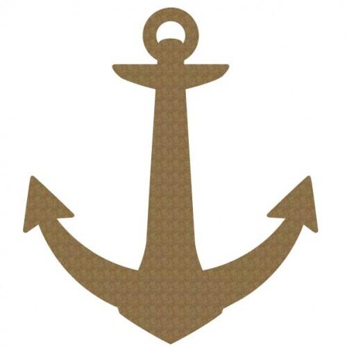 9 inch Anchor - Nautical