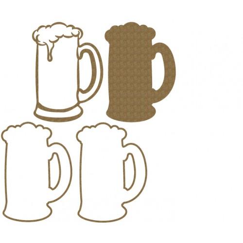 Root beer Glass Shaker - Shaker Sets