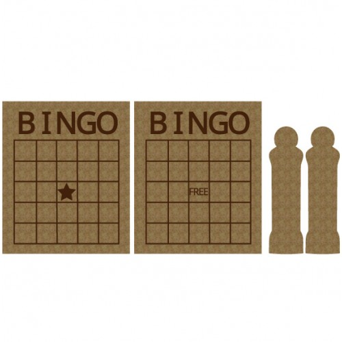 Bingo Card Set - Games and Toys