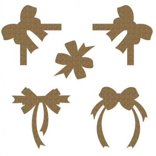 Bows - Chipboard