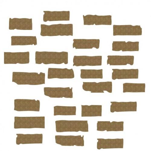 Distressed Bricks - Shapes