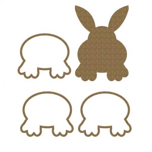 Bunny Bottom Shaker - Shaker Sets