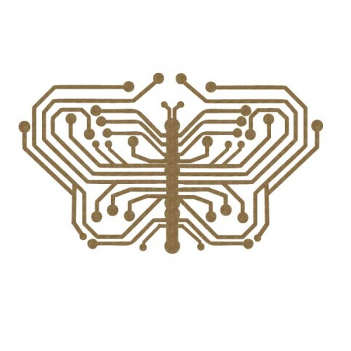 Circuit Butterfly - Steampunk