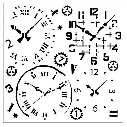Clock Stencil - Stencils