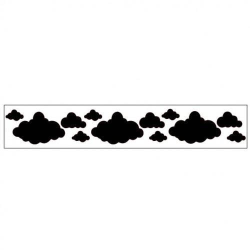 Cloud Border Style 2 - Stencils