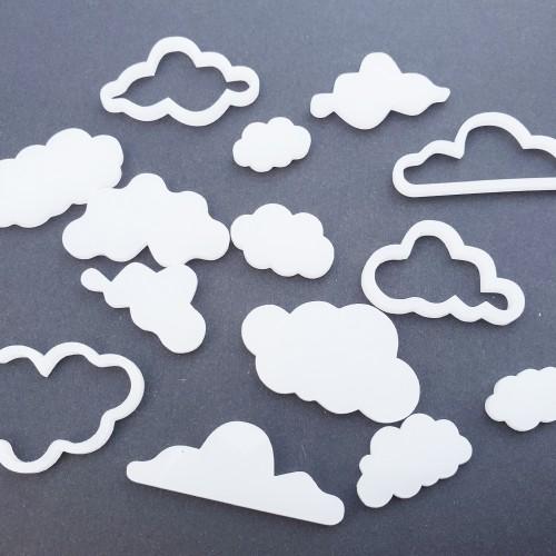 White Cloud Set - Acrylic