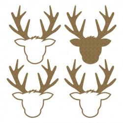 Deer Head Shaker
