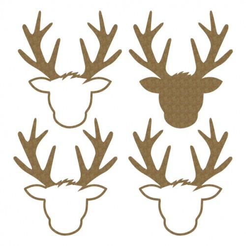 Deer Head Shaker - Shaker Sets