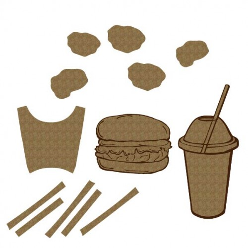 Fast Food Set - Games and Toys