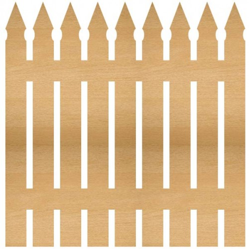 Picket Fence - Home Decor