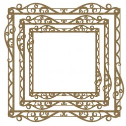 Large Filigree Frames