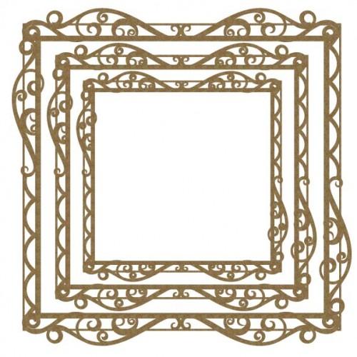 Large Filigree Frames - Frames