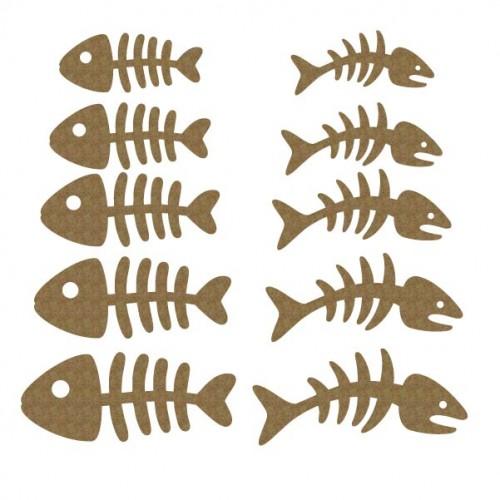 Fishbone Set - Animals