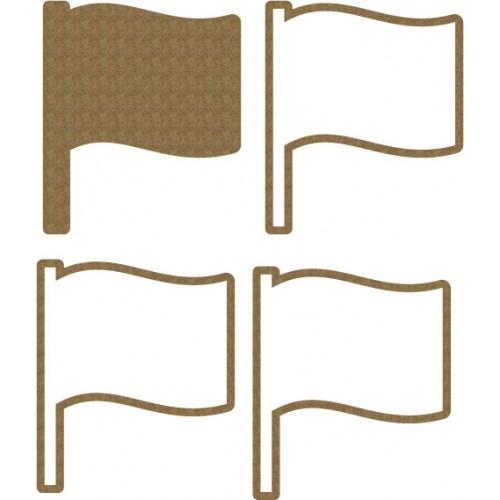 Flag Shaker Set - Shaker Sets