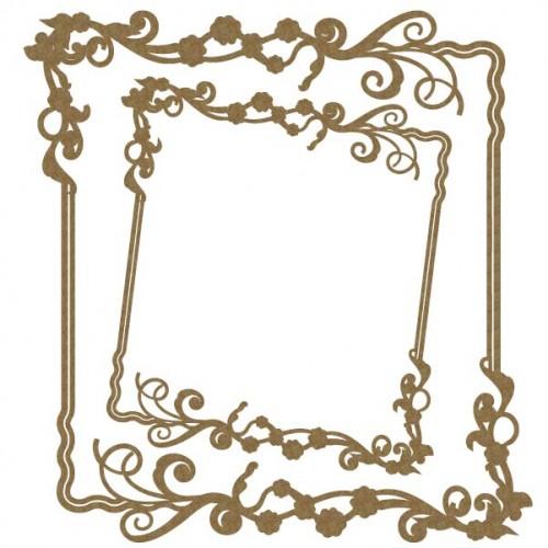 Floral Frame Large - Frames