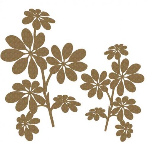 Leaves Cluster - Flowers