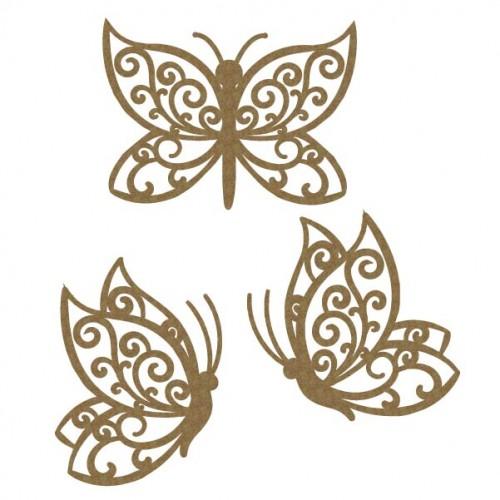 Flourish Butterfly set 5 - Wings
